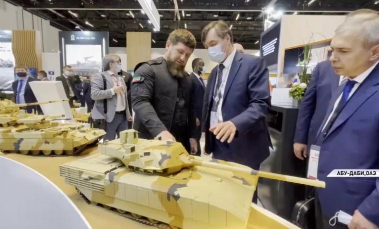 Рамзан Кадыров посетил оборонно-промышленную выставку IDEX-2021 в ОАЭ