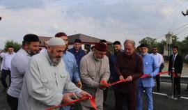 В Чеченской Республике после реконструкции открыли дорогу и мост