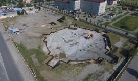 В Грозном строится новая мечеть вместимостью 4400 человек