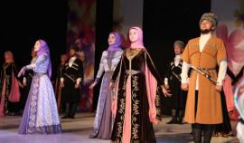 Ансамбль «Нохчо» выступает в рамках гастрольного тура в Татарстане