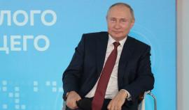 Президент России поздравил школьников и студентов с новым учебным годом