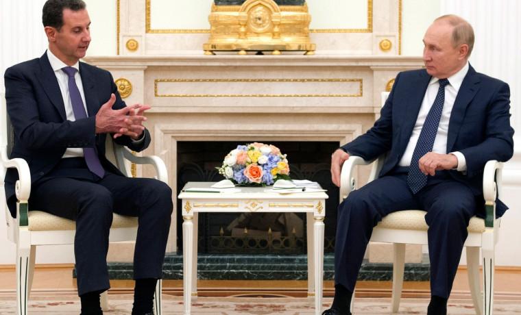 Президент России Владимир Путин встретился с президентом Сирии Башаром Асадом