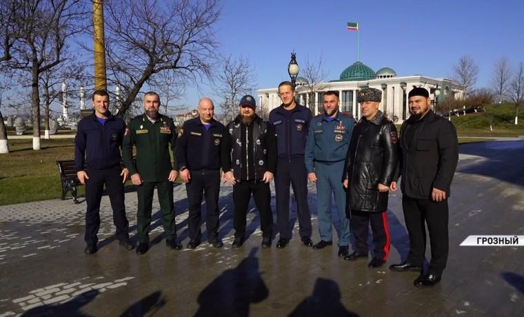 Рамзан Кадыров встретился с заместителем главы МЧС России