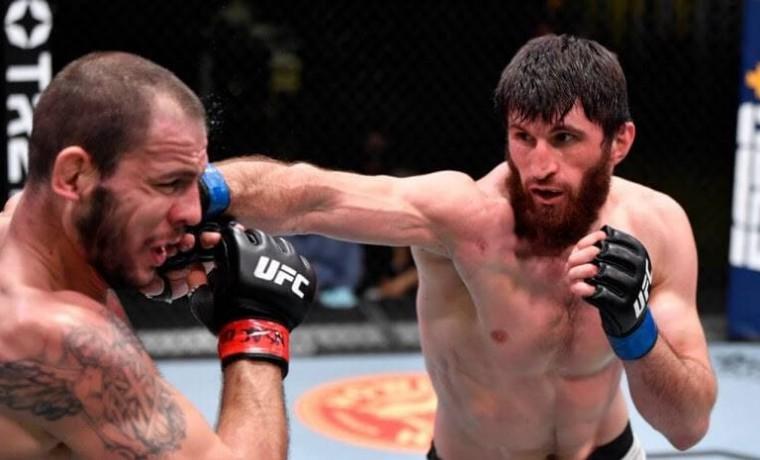 В Лас-Вегасе состоялся турнир смешанных единоборств UFC Vegas 20 с участием бойцов клуба «Ахмат»
