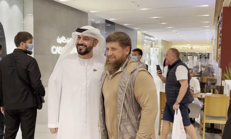 Рамзан Кадыров поделился впечатлениями от посещения «Дубай Молл»
