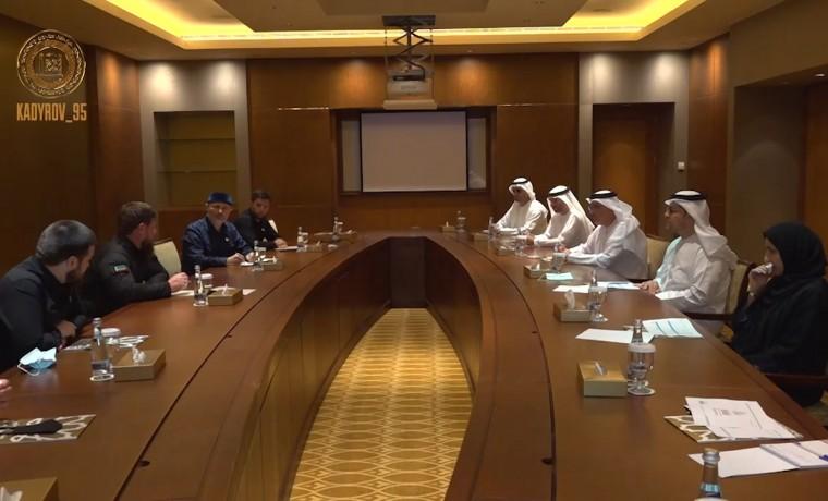 Рамзан Кадыров в ходе визита в ОАЭ встретился с Председателем Департамента экономразвития Абу-Даби