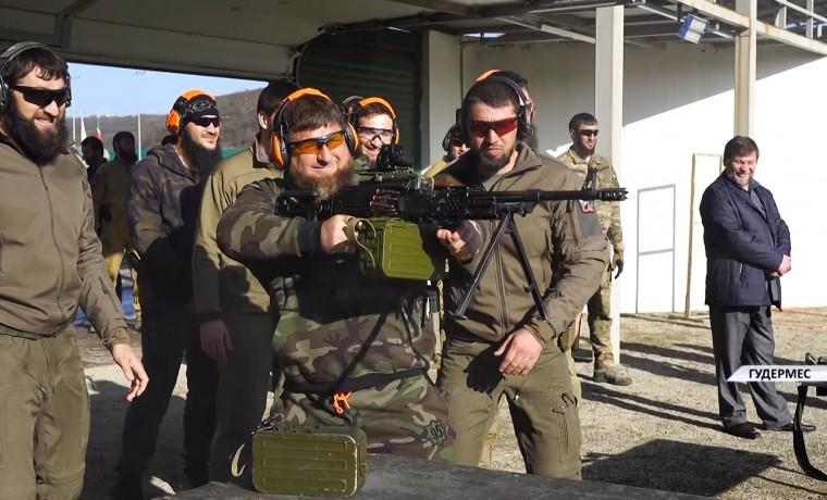 Рамзан Кадыров побывал в Российском университете спецназа в Гудермесе