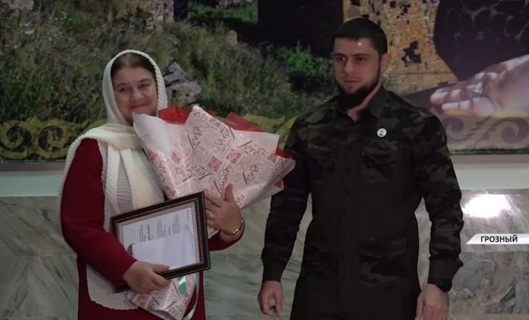 В Грозном отметили юбилей ветерана чеченской журналистики Азы Газиевой