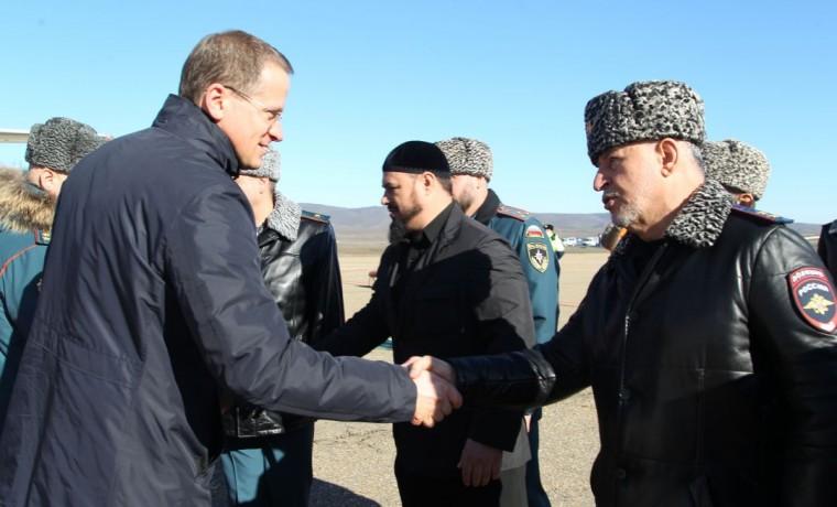 В Грозный с рабочим визитом прибыла делегация центрального аппарата МЧС России