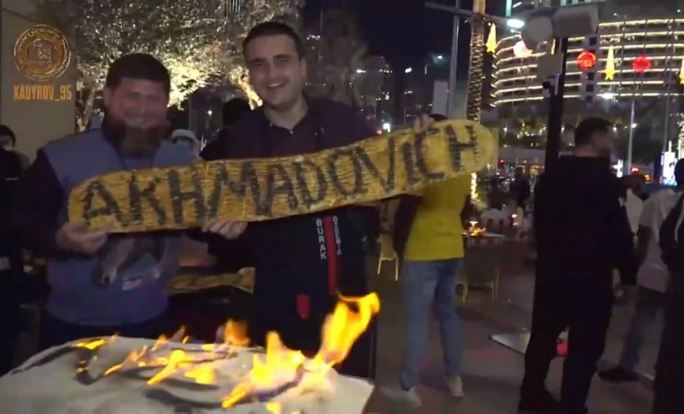 Рамзан Кадыров встретился с известным турецким поваром Бураком Оздемиром