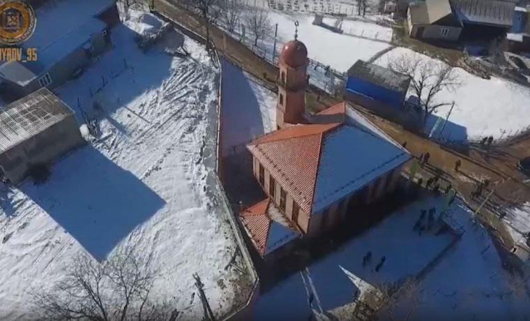 Мечеть на 200 молящихся открыли в селении Марзой-Мохк Веденского района